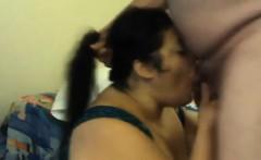 BBW And Her Fat Husband Fool Around