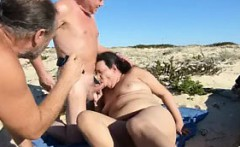 She is on MILF-MEET.COM - Silver Stallion Beach Sex