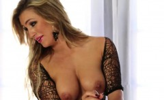unbelievable titty babe in sexy lingerie enjoy great cock mi