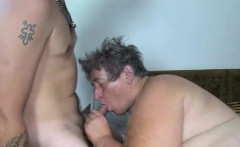 Granny Gets Down With A Babe