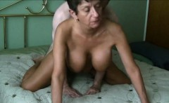 Busty beautiful grandma fucked like a doogie