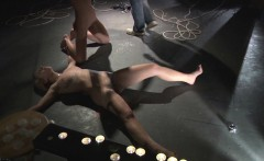 Teens played and paned in restrained