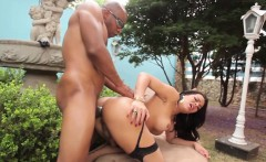 Classy latina tranny jizzed on over her booty