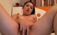 Cute Asian Cam Girl Teasing
