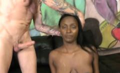 Champayne Fox black teen extreme oral