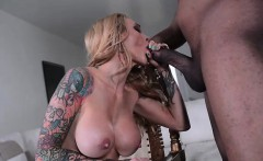 Sarah Jessie Sucks Jovan Jordan's Black Cock