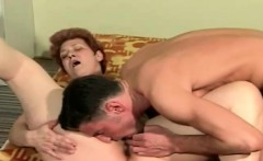 Red hair milf Alisa got a doggy fuck