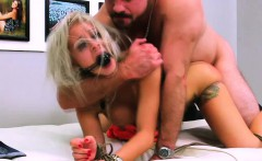FetishNetwork Marsha May bound blonde