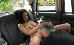 Ghetto chick gets pounded by fake driver for free fare
