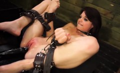 Nasty chick Kacey Dean gets penetrated hard by sex machine