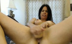Beautiful Babe Masturbating on Webcam