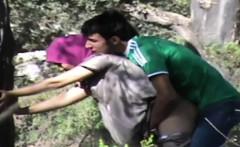 Hidden camera sex that is outdoor
