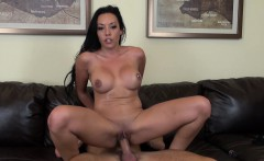 Rio Lee hangs on for some hard meat and a deep drilling on the couch