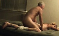 Exciting blonde milf getting her fiery slit pounded hard fr