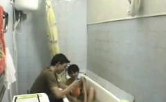 amateur couple awesome bathroom fuck on cam