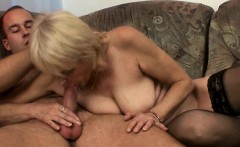 Old mama opened up with young dick