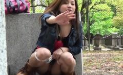 Japanese skank pissing