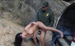 Booby latin floozie fucked by BP officer in many positions