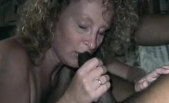 Attractive blonde mature milf stroking trips and large blac
