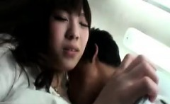 Cute Asian teen gets her snatch toyed and bent over to get