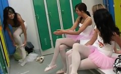 Cute teen couple Hot ballet doll orgy