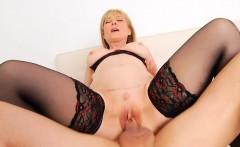 Fuckable mature feels on top of her sex partner
