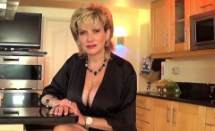 Unfaithful uk mature lady sonia showcases her oversized hoot