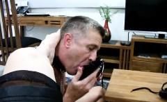 Licking on talk