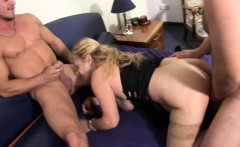 XXX Omas - German mature gets fucked hard in threesome