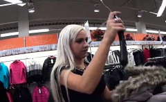 Stunning czech teen is teased in the mall and rode in pov