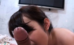 taut asian gets hairy cunt sucked and fucked in mouth