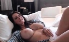 Cougar milf brunette big tits wants a young