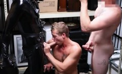 Gay poop fetishes xxx Dungeon master with a gimp