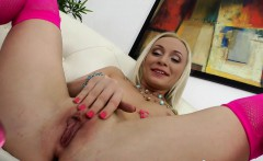 Babe assfucked hard after assplay with dildo