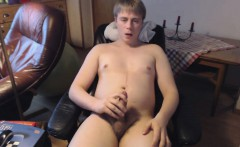Danish Guy - Masturbation and intense orgasm