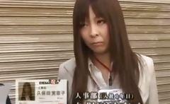 Japanese hotties attending a meeting