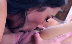 lesbian vixens make each other squirm from pleasure