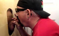 Blowing Cock At My Gloryhole