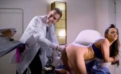 Pleasure centre is deep inside her asshole let the doc help