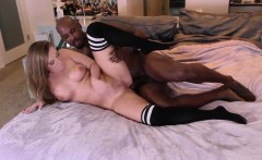 Babe licked by black dude