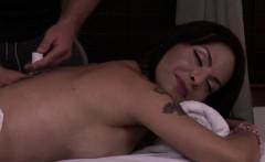 Busty Massage Tgirl Riding Her Masseur