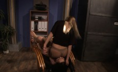 Smalltit beauty punished by wild dominant