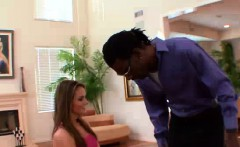 beautiful brunette, tori black has a black stepdad and