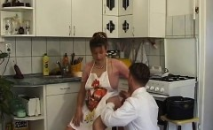 pregnant housewife fucked