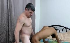 Cute little skinny twinky is a true anal cock sucking slut