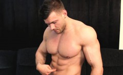 Captured muscle stud belly button torture