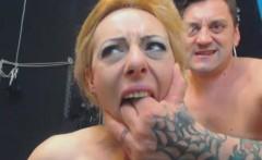 Old Pervert Humiliates Russian Slut Treating Her Like A Slav