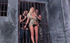 pretty prison guard dp banged by inmates