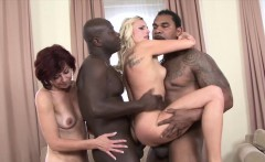 Black Monster cocks for beautiful milfs get fucked anal