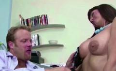 hot milf chef seduce stranger to fuck in office